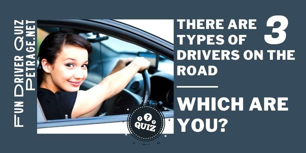 there are types of drivers on the road which are you quiz petrage