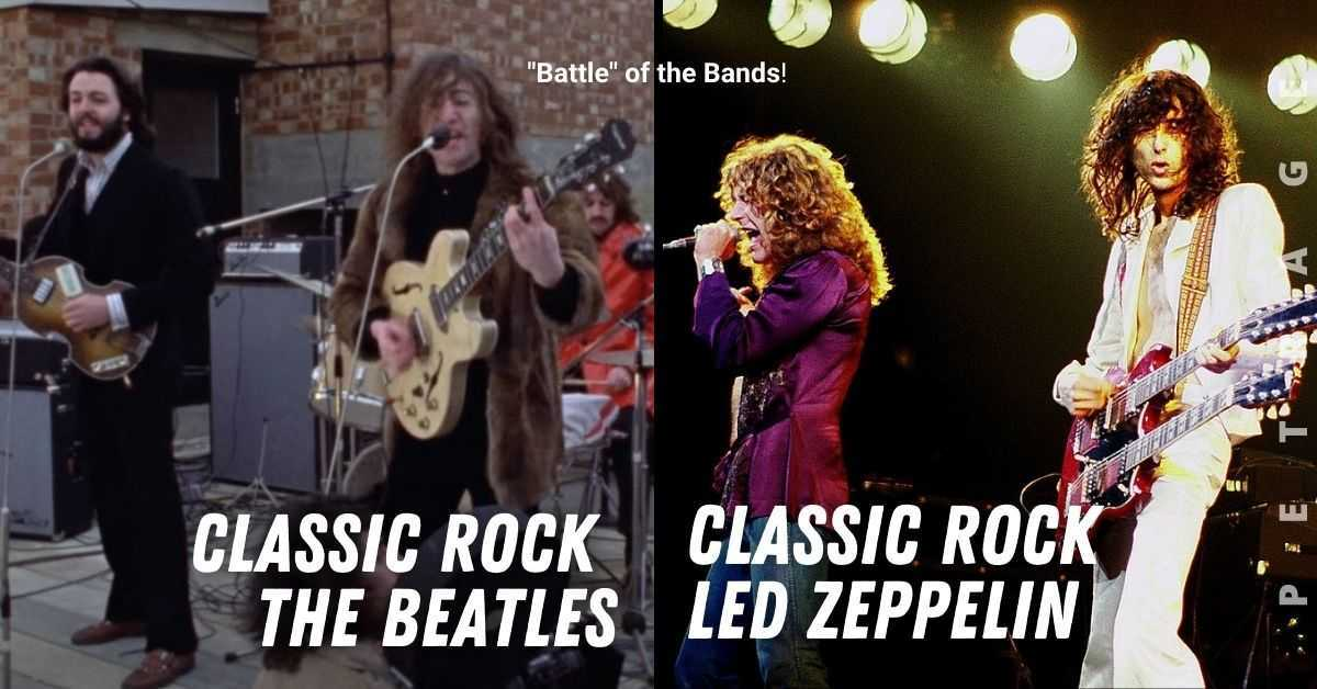 the beatles or led zeppelin battle of the bands quiz petrage