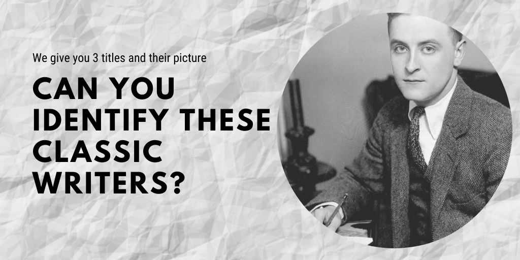can you identify these classic writers quiz petrage (2)