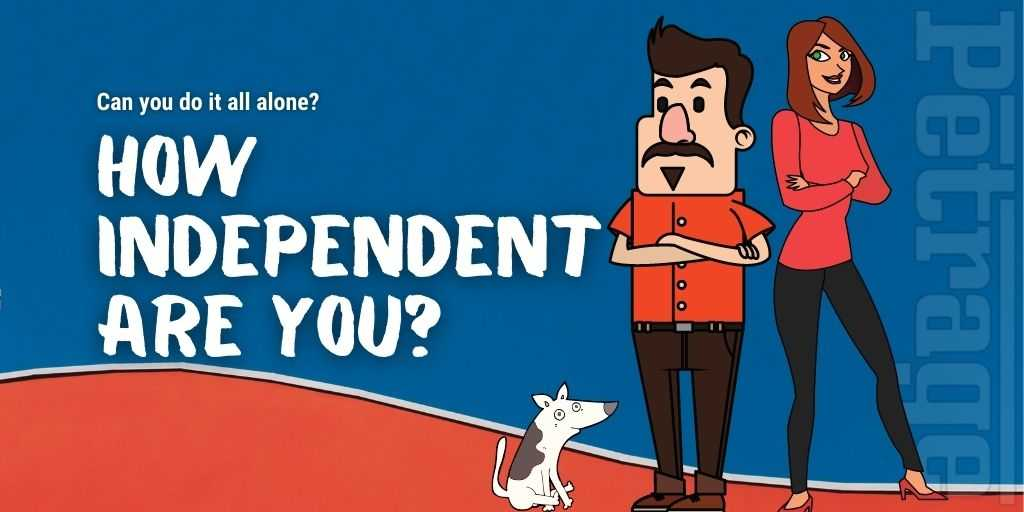 how independent are you Quiz petrage